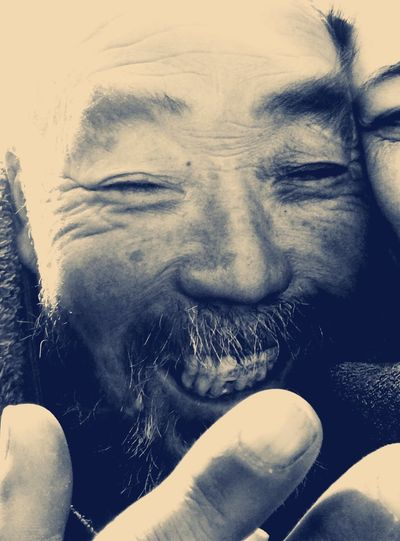 Beggar China Photos China Streets Close-up Happiness Human Body Part Human Hand Leisure Activity Lifestyles One Person Poor But Happy Portrait Real People Shanghai Shanghai Peoples Park Connected By Travel This Is Aging