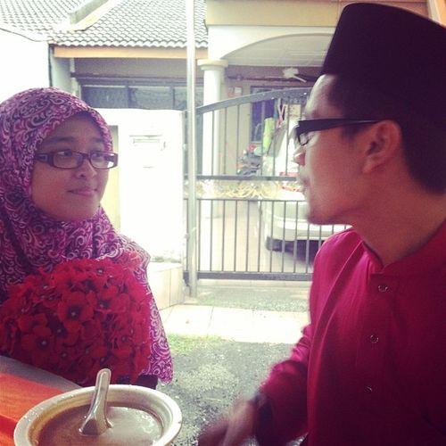 Wedding Cousinzaa Zaafit Love wife spectacle pengapit makayah. The love of my life. Till jannah.