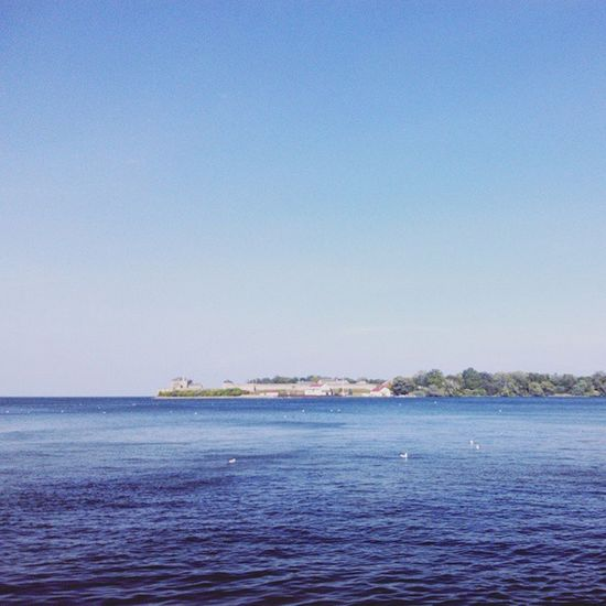 一望無際的 Lake Ontario~簡直就是海了!