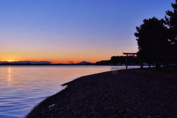Lake Hinuma and
