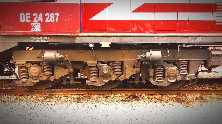 Transportation Rail Transportation No People Outdoors Day Train - Vehicle Railroad Track Tehnology TCDD
