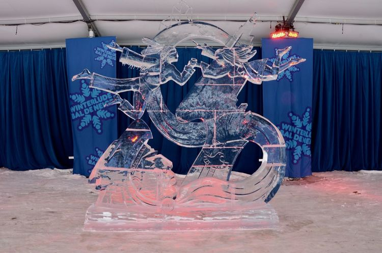 Winterlude Canada Canada 150 Confederation Park Day Ice Sculpture Ice Sculptures Indoors  No People Ottawa Winter Winter Festival Winterlude