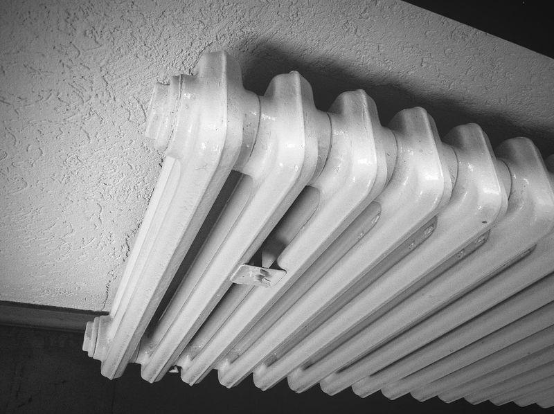 radiator Radiator white Heating Household