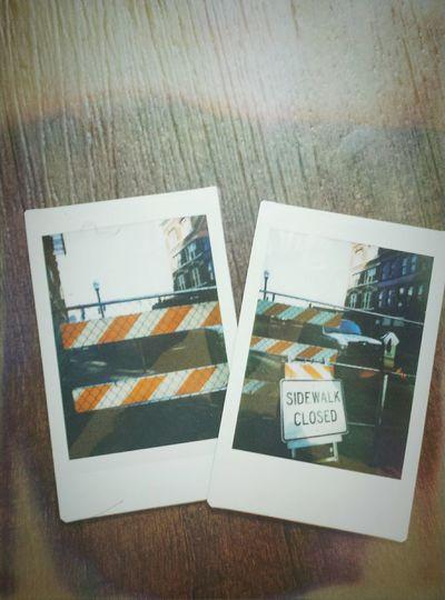 Polaroids? Polaroids Mini Construction Site City City Life