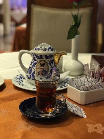 Tea تصويري  شاي Indoors  Table Food And Drink Drink Refreshment No People Saucer Tea - Hot Drink Food Close-up Freshness