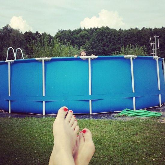 Pool Füsse
