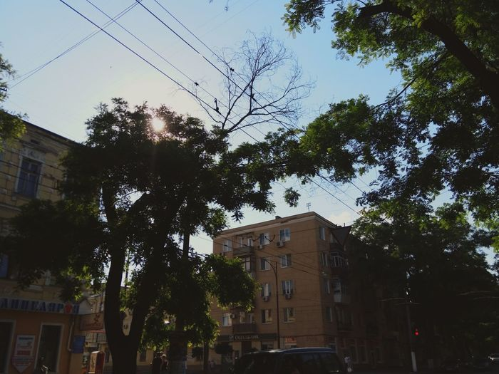 Home Hous Old House Summer OdessaUkraine Odessa Oldarchitecture My City Street Sunset Sky Picture Arhitecture
