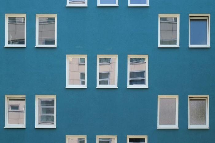 Aquamarinfassade Taking Photos Urban Geometry Urbanphotography Urbanexploration Facades Minimalism Simplicity Architecture Reflections Myberlin