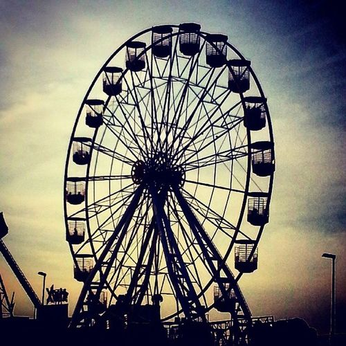 The big wheel Malahide  Funfair Sunset Summer Ireland_gram Insta_ireland Dublin Enjoymalahide