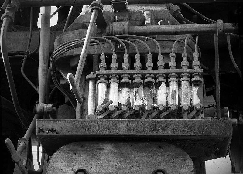 Technikmuseum Gleisdreieck Black & White Monochrome