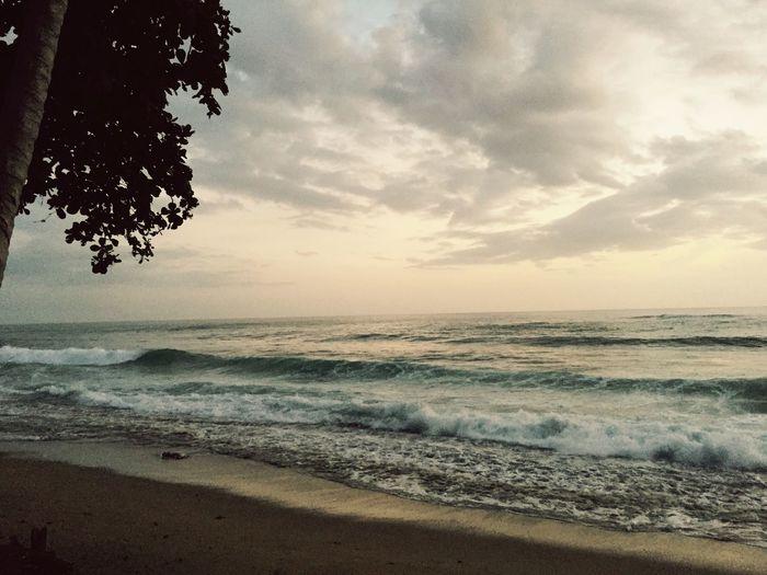 Beachphotography Rincon Puerto Rico Caribbean Enjoying Life Sunset Storm Clouds Island Living Hello World