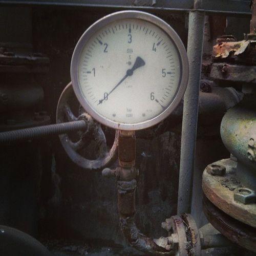 Coking Industry Dortmund Kokerei_Hansa pressure_gauge
