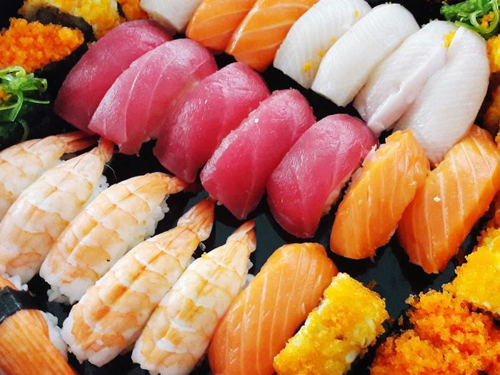 Sashimi  Sushi Seafood Fish Cultures Japanese Food Raw Food Salmon - Seafood Close-up Food And Drink Fillet Serving Size Squid Salmon Rice - Food Staple Served Main Course Sea Urchin Fried Rice Ready-to-eat Tuna Steak Noodles Prepared Food Curry Dish Shrimp Coriander Caviar