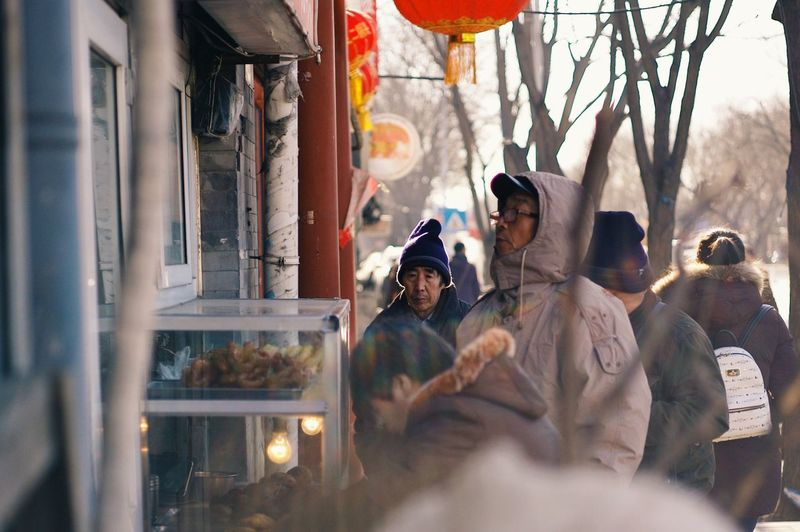 Beijing Streetphotography Street Traditional City Old Urban Culture China Winter Cold People Afternoon Showcase: January Sunshine