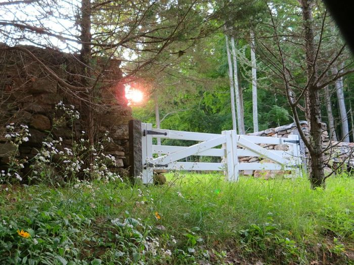 All the gates a rural community needsCountryside Sunset Day's End