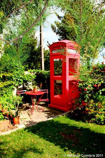 Telephone BoothMagical Places Secret Garden at home, Campo De Besteiros