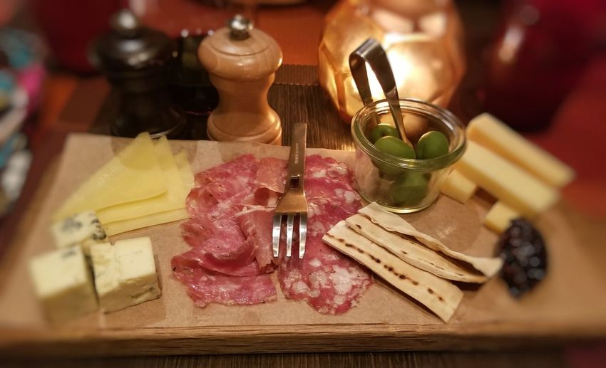 Meat and Cheese