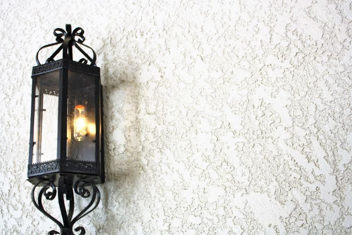 Architectural Feature Architecture Black Color Electric Light Illuminated Lighting Lighting Equipment Minimal No People Sconce Shadows & Lights Wall - Building Feature White Wall