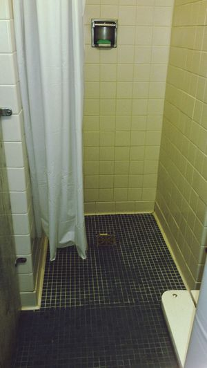 dorm showers Uncw Alwaysprotectyourfeet Hatedthat Alittlecreepy Showersincollege Dormbathroom Indoors  No People Built Structure Architecture Day Close-up