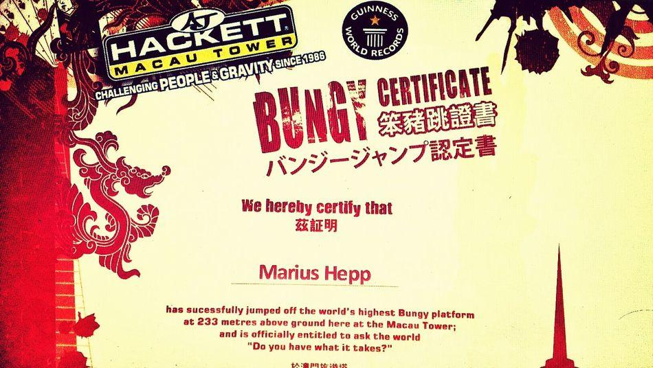 World's Highest Bungy Jump