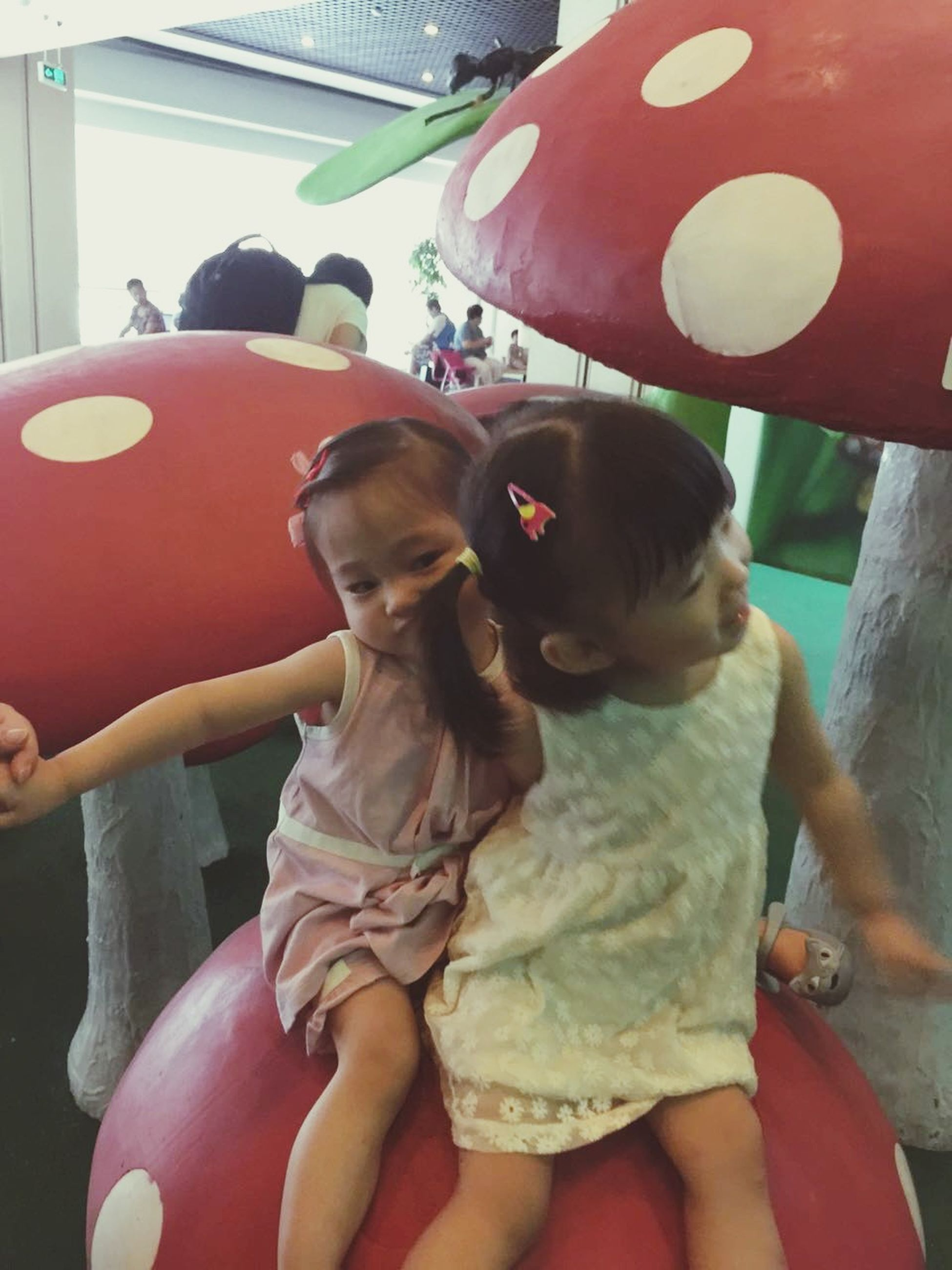 lifestyles, leisure activity, togetherness, childhood, bonding, love, boys, girls, elementary age, holding, family, sitting, casual clothing, cute, person, innocence