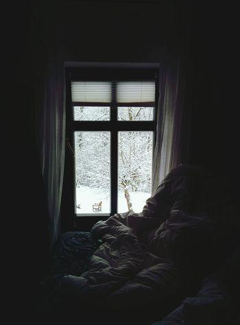 I woke up like this Snow Snowing Snow Day Berlin Rehfelde