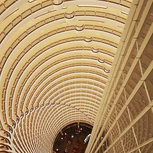 85thfloor Atrium Hoteling Shanghai Travelling