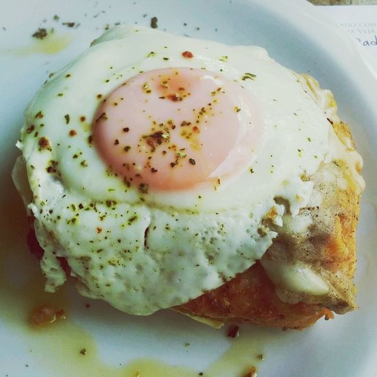 Croque madame no capricho! Food Photography Foodgasm