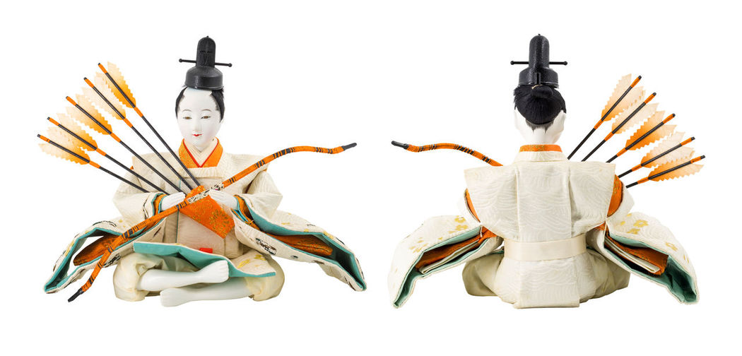 Japanese doll Toy Cartoon Doll Japanese  Religion Di Cut Isolated White Background Clipping Path Objects No People Fashion White Background Day Close-up