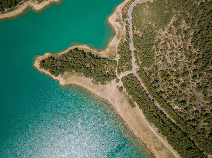 Water Aerial View Land Scenics - Nature Sea Beach No People Nature Beauty In Nature Day High Angle View Tranquility Tranquil Scene Outdoors Coastline Environment Travel Destinations Idyllic Island Turquoise Colored Swimming Pool Lagoon Sichar