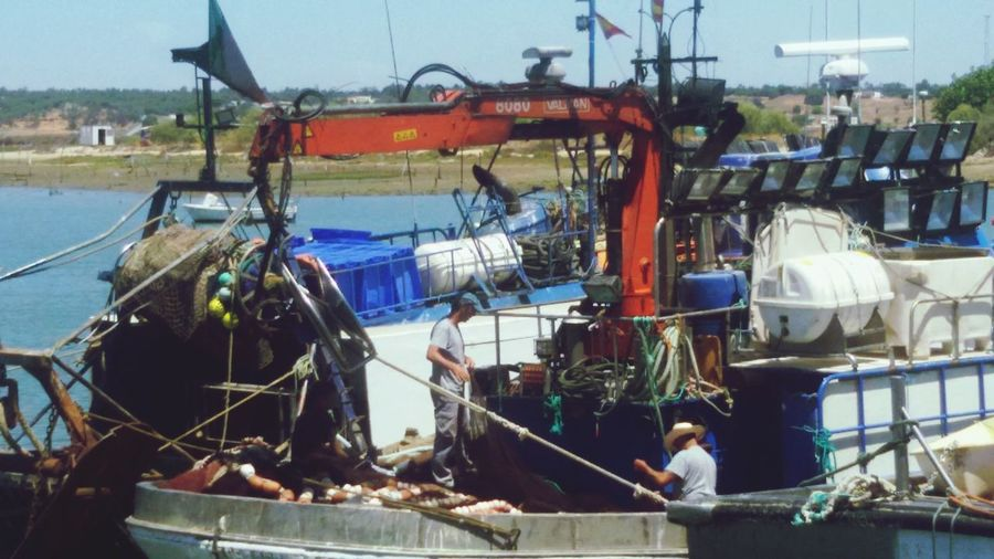 Pesqueros Isla Cristina Huelva