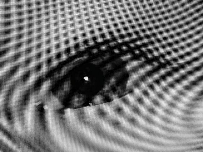 Macro Beauty Eye pixelate you Eye Pixel Television Close-up Macro Macro_collection Macroclique Pixelated Taking Photos Check This Out Blackandwhite Eye4photography  B&w EyeEmBestPics Monochrome Getting Inspired Pattern Popular Photooftheday EyeEm Best Shots Showcase: January EyeEm Gallery Popular Photos EyeEm Best Shots - Black + White