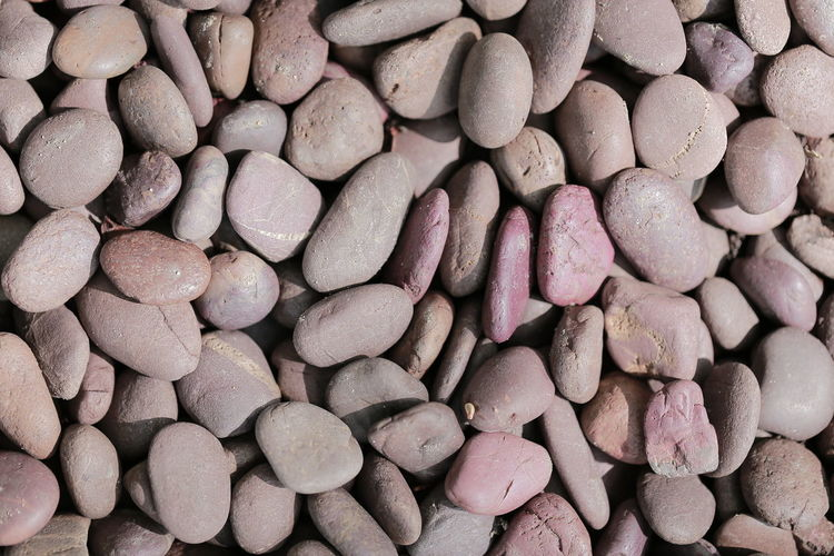 Abundance Backgrounds Beach Close-up Day Directly Above Full Frame High Angle View Land Large Group Of Objects Nature No People Outdoors Pattern Pebble Rock Solid Still Life Stone Stone - Object