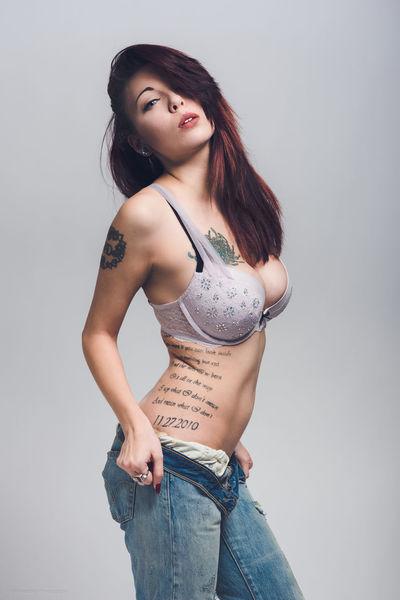 Blue Eyes Curves Tattoomodels Moodygrams Victoria's Secret Fresh Shades Of Cool Lips Follow_me