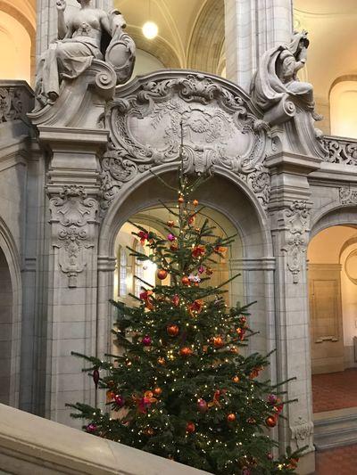 Kriminalgericht Moabit Christmas Architecture No People Kriminalgericht