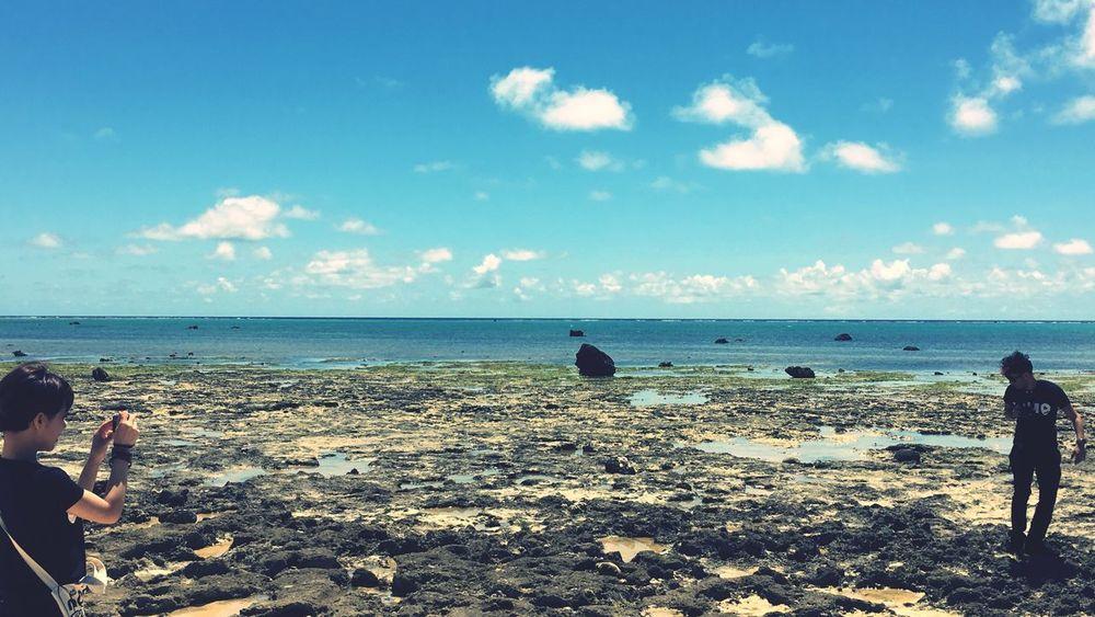 Who Dahea Okinawa OKINAWA, JAPAN Seaside Sea And Sky Sea