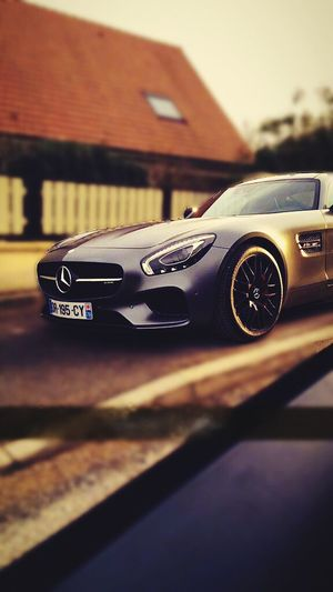 AMG Car Taking Photos Enjoying Life