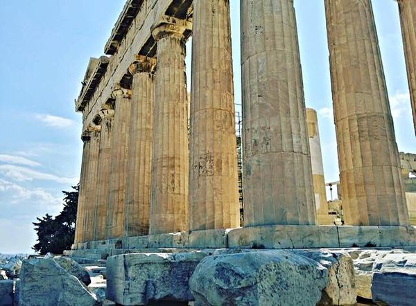 Colonne Athens, Greece Grecia Atene History Architecture The Past Built Structure Travel Destinations Sky Ancient Old Ruin Travel Tourism Low Angle View Architectural Column Ancient Civilization Place Of Worship Sunlight Archaeology Building Exterior City