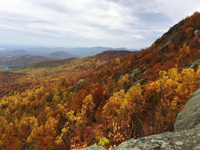 Hiking Fall Colors Mountains Optoutside ShotOniPhone6
