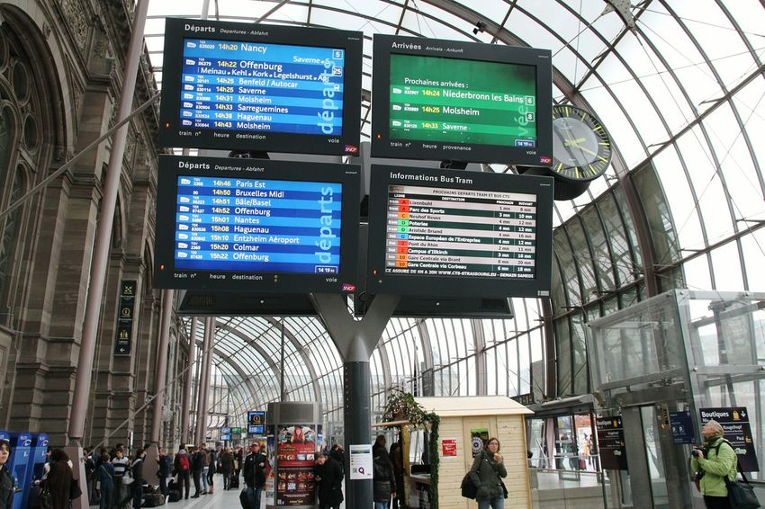Visiting Strasbourg :) Public Transportation Strasburg Strasbourg Train Station Gare Public Transportation Trainstation Sncf Traveling