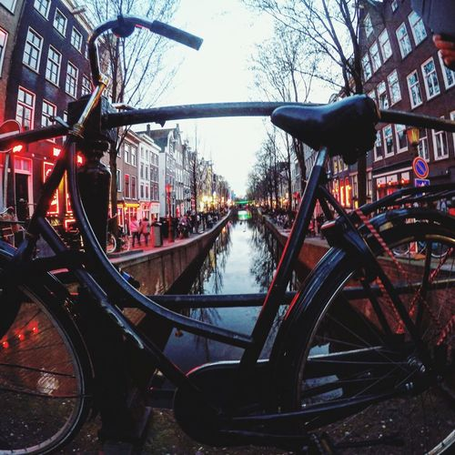Red district Amsterdam -> Bicycle Travel Destinations Amsterdamthroughmycamera Amsterdam Canal Red District