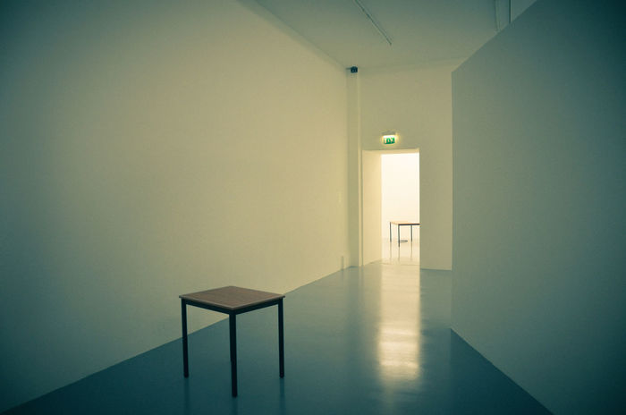 Absence Chair Door Empty Empty Places Flooring Home Interior Hospital Indoors  Light Mysterious Mystery Narrow Open Psychiatric Psychiatric Hospital Room Strange Table Wall