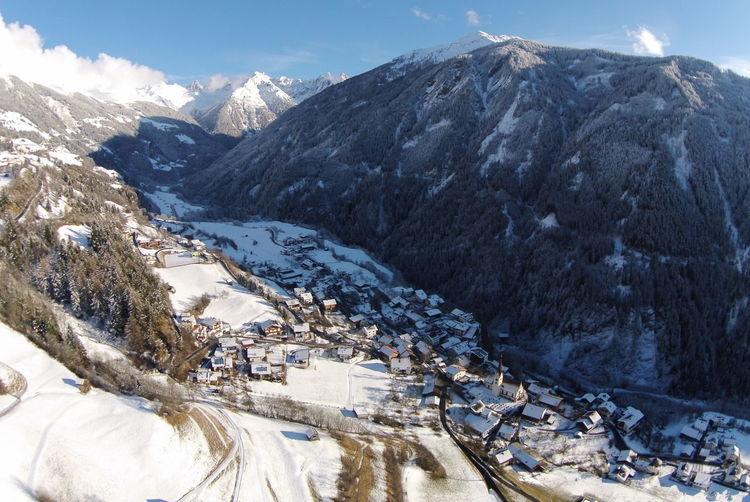 Cold Temperature Kaunertal Kauns Mountain Snow Snowcapped Snowcapped Mountain Tirol  Winter