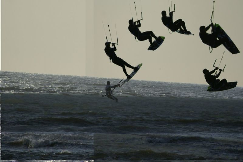 Kitesurfing Sky_collection Water_collection Just A Try Out