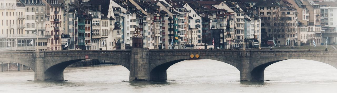 EyeEm Selects Architecture Built Structure Connection Bridge - Man Made Structure Arch Building Exterior Day Outdoors Water City No People Transportation