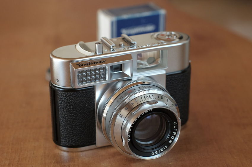 One of the most beautiful viewfinder cameras Analoge Kamera Analogue Photography Voigtlaender Antique Camera Camera - Photographic Equipment Camera Flash Close-up Lens - Optical Instrument Old-fashioned Photography Themes Retro Styled Technology Vitomatic 2a Voigtländer