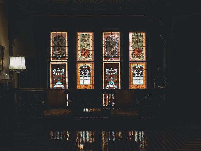 Window in temple