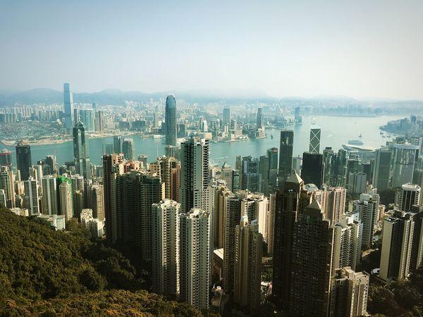 香港 ヴィクトリアピーク ピークトラム 山頂 3XSPUnity 香港旅行 Hello World Enjoying Life Relaxing Travel Destinations HongKong