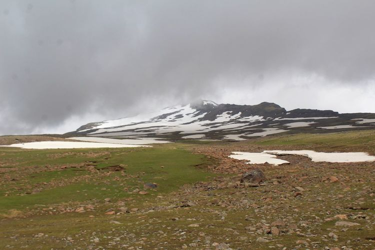 Aragat Armenia Snow ❄ Aragats_mountain Beauty In Nature Cold Temperature Day Environment Glacier Landscape Mountain Natural Phenomenon Nature No People Outdoors Power In Nature Scenics Sky Snow Water Winter