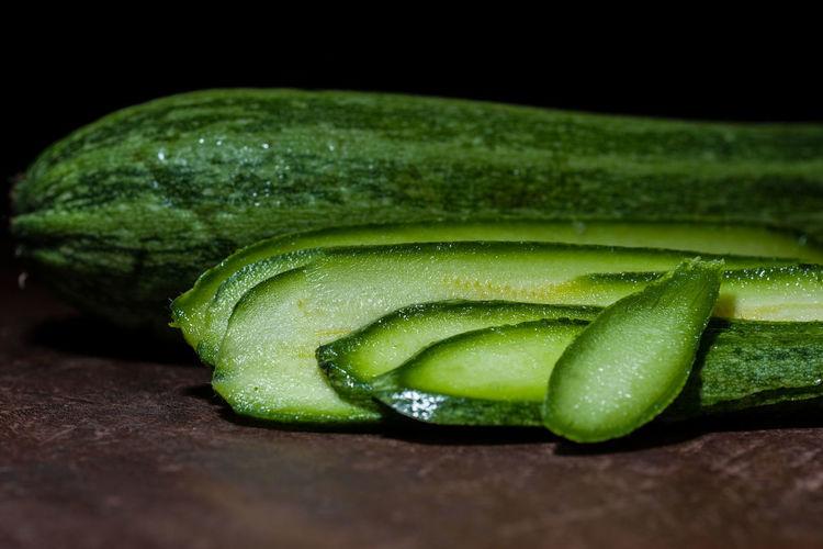 Close-up of green chili
